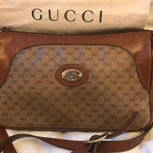 Gucci Authentic Vintage Shoulder Strap Bag
